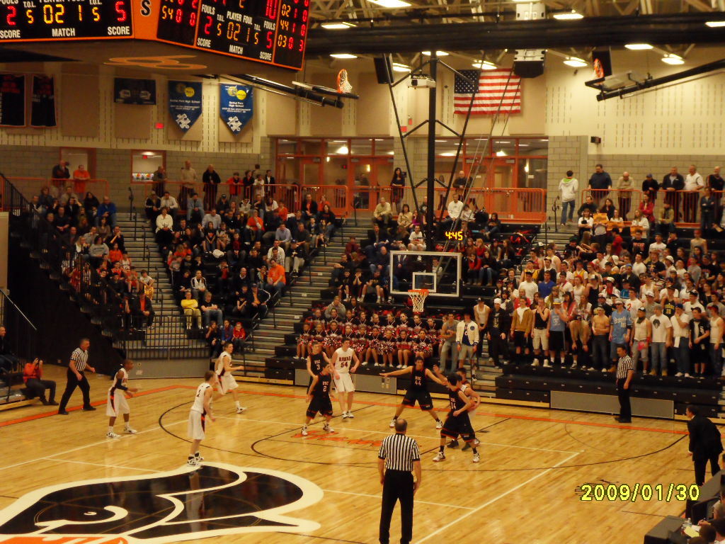 - Project Name: Bethel Park High School, Pittsburgh, PAPrime Contractor: Mascaro ConstructionArchitect: Hayes Design Group ArchitectsProject Description: Delivered and installed Spalding gymnasium equipment,  Daktronics scoreboards, Seating Concepts auditorium seating.