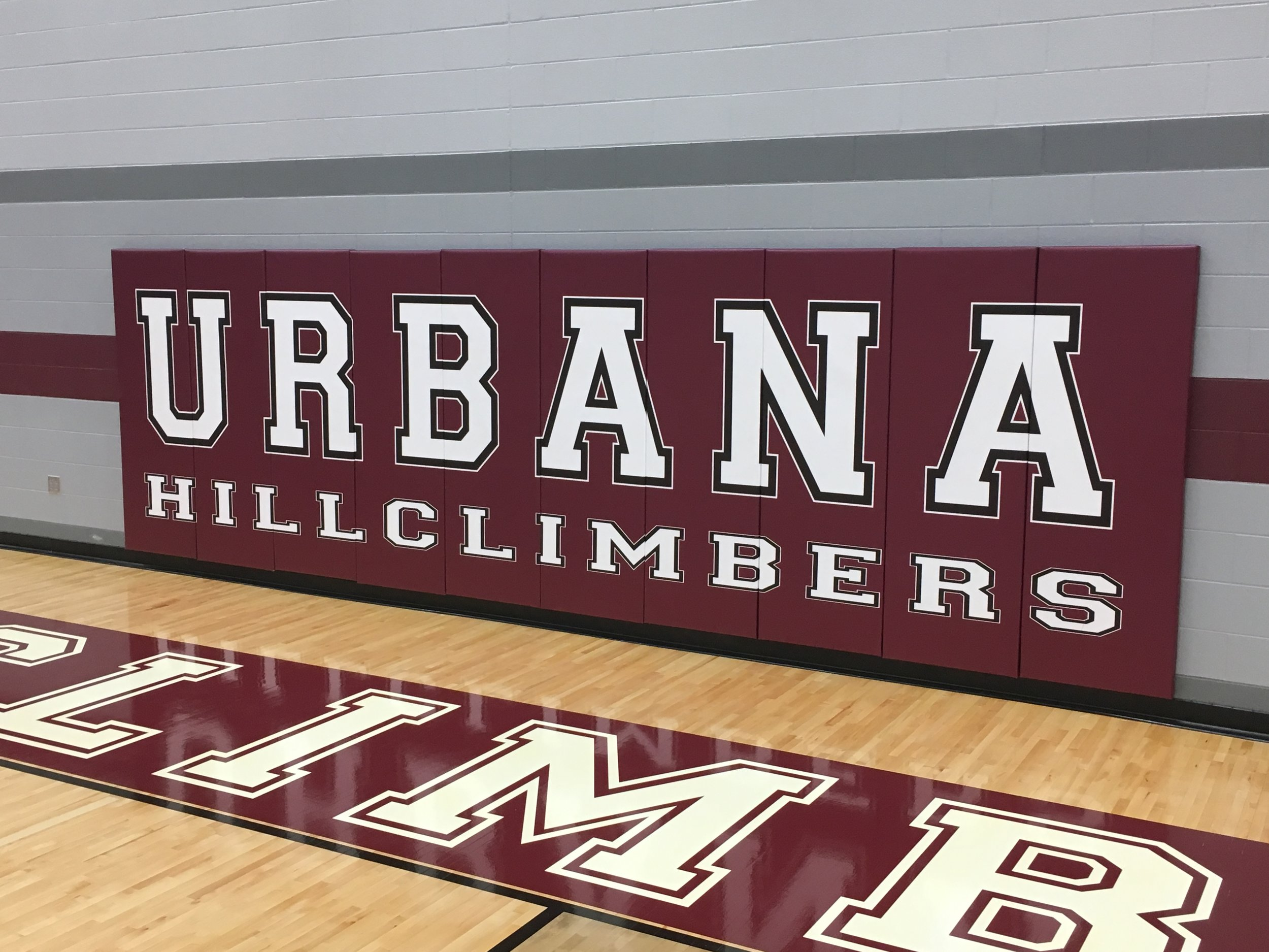 - Project Name: Urbana High School, Urbana, OHPrime Contractor: Peterson ConstructionArchitect: Fanning Howey ArchitectureProject Description: Delivered and installed Draper gymnasium equipment and graphic wall pads.