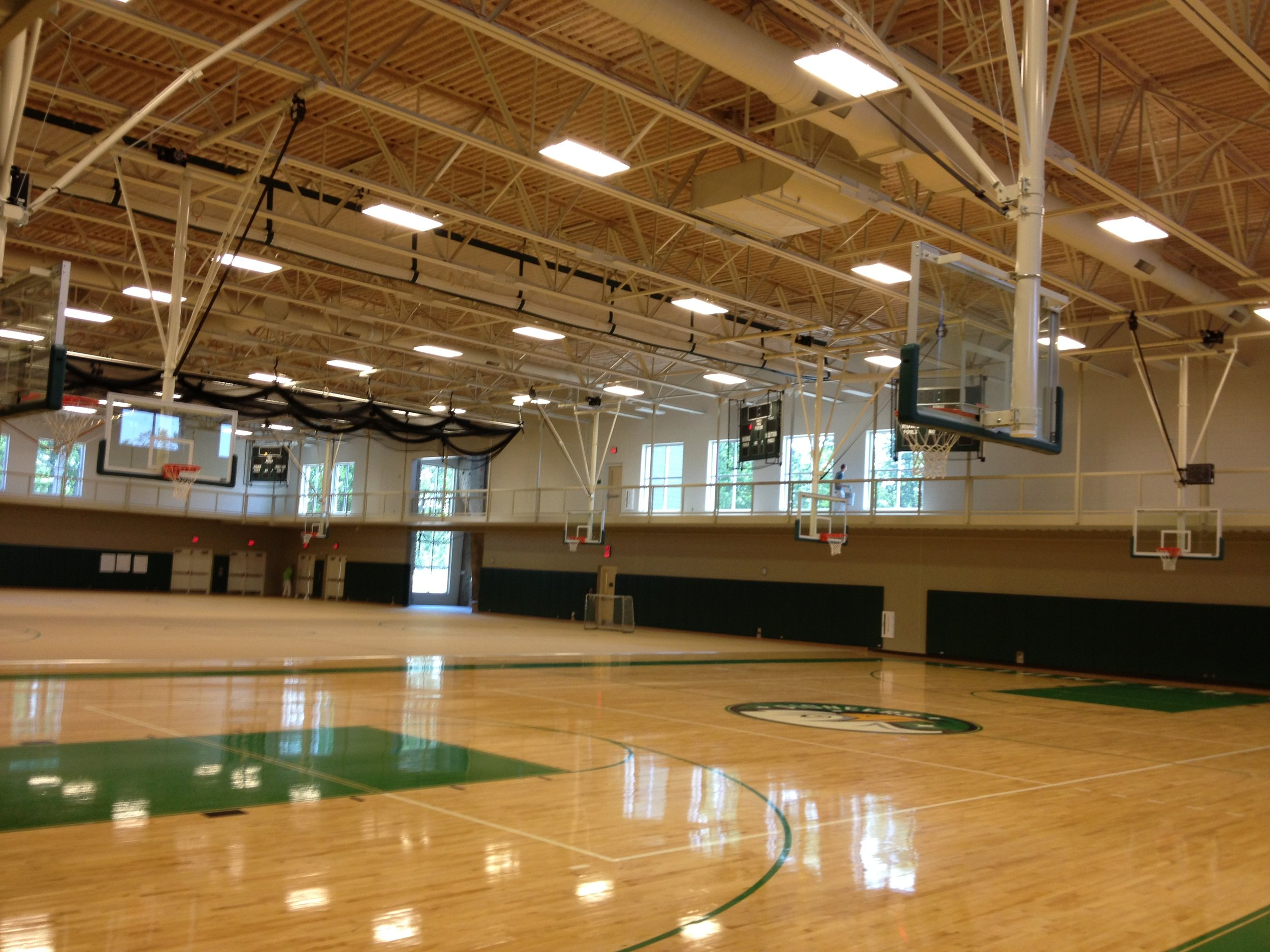 - Project Name: Eagle Hill SchoolPrime Contractor: Stanmar Inc.Architect: Stanmar Inc.Project Description: Delivered and installed Draper basketball backstops, gymnasium divider curtains and batting cages.