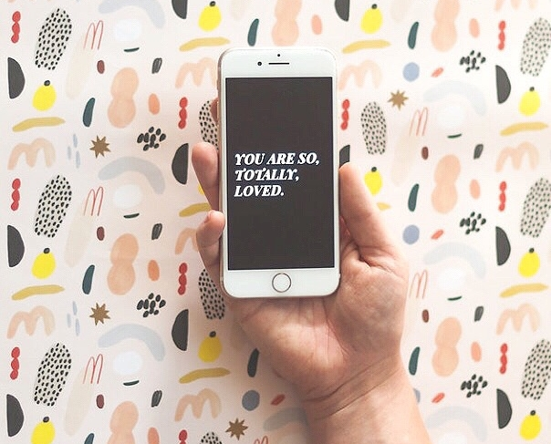 Get free digital downloads - Your phone is your new bff. Make sure it's telling you something good. Sign up for free phone lock screens, digital downloads and more!