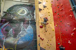 People reach new heights and conquer their fears at Brooklyn Boulders. ~ Photos courtesy of Rafi Properties