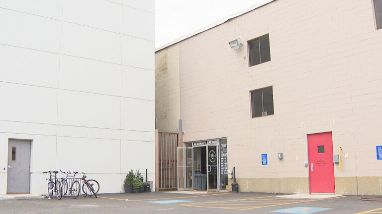 Three unique food experiences occupy this old factory building in Somerville. (Image: WBZ-TV)