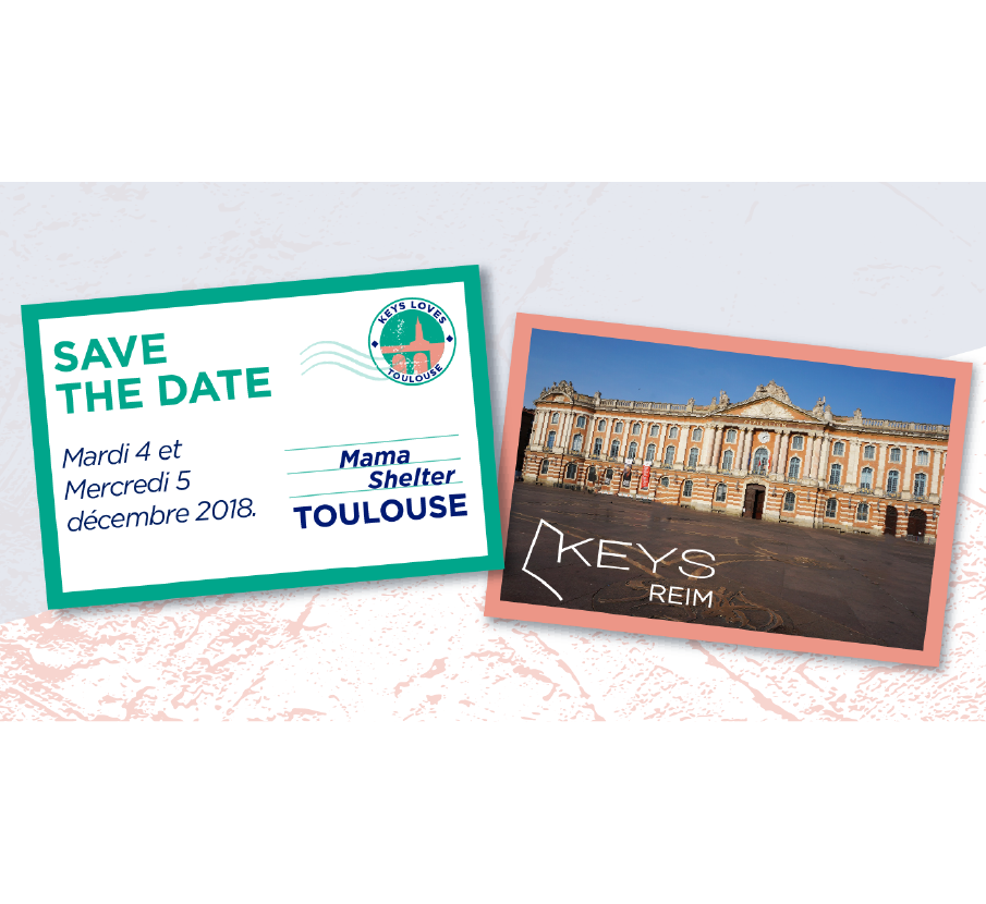Save the date Keys REIM | Toulouse