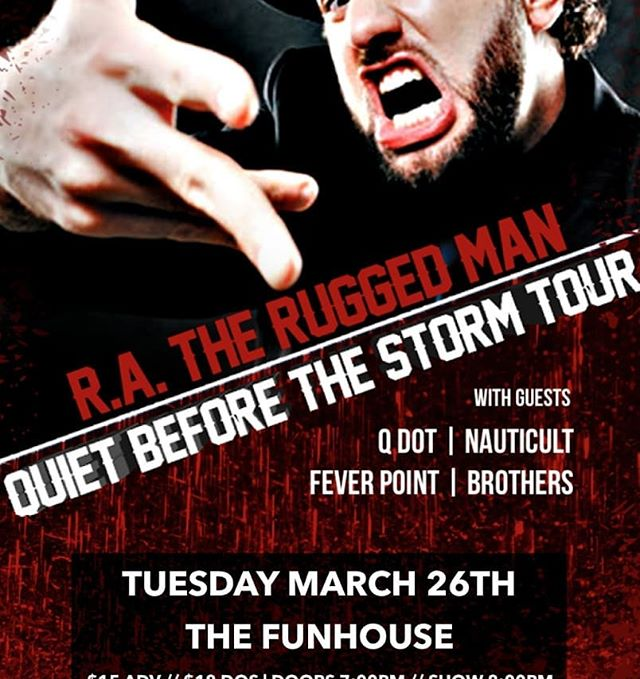 FIRST SHOW OFF HAITUS! OPENING FOR @ratheruggedmanofficial AT @funhouseseattle 💀💀💀Come through! 🤢🤢