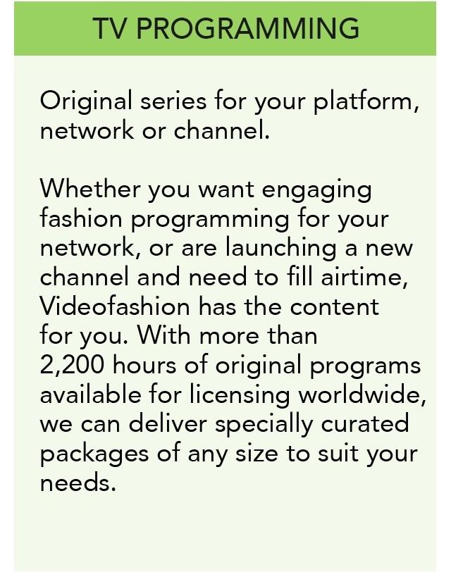 TV Programming