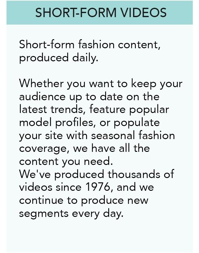 Short Form Videos
