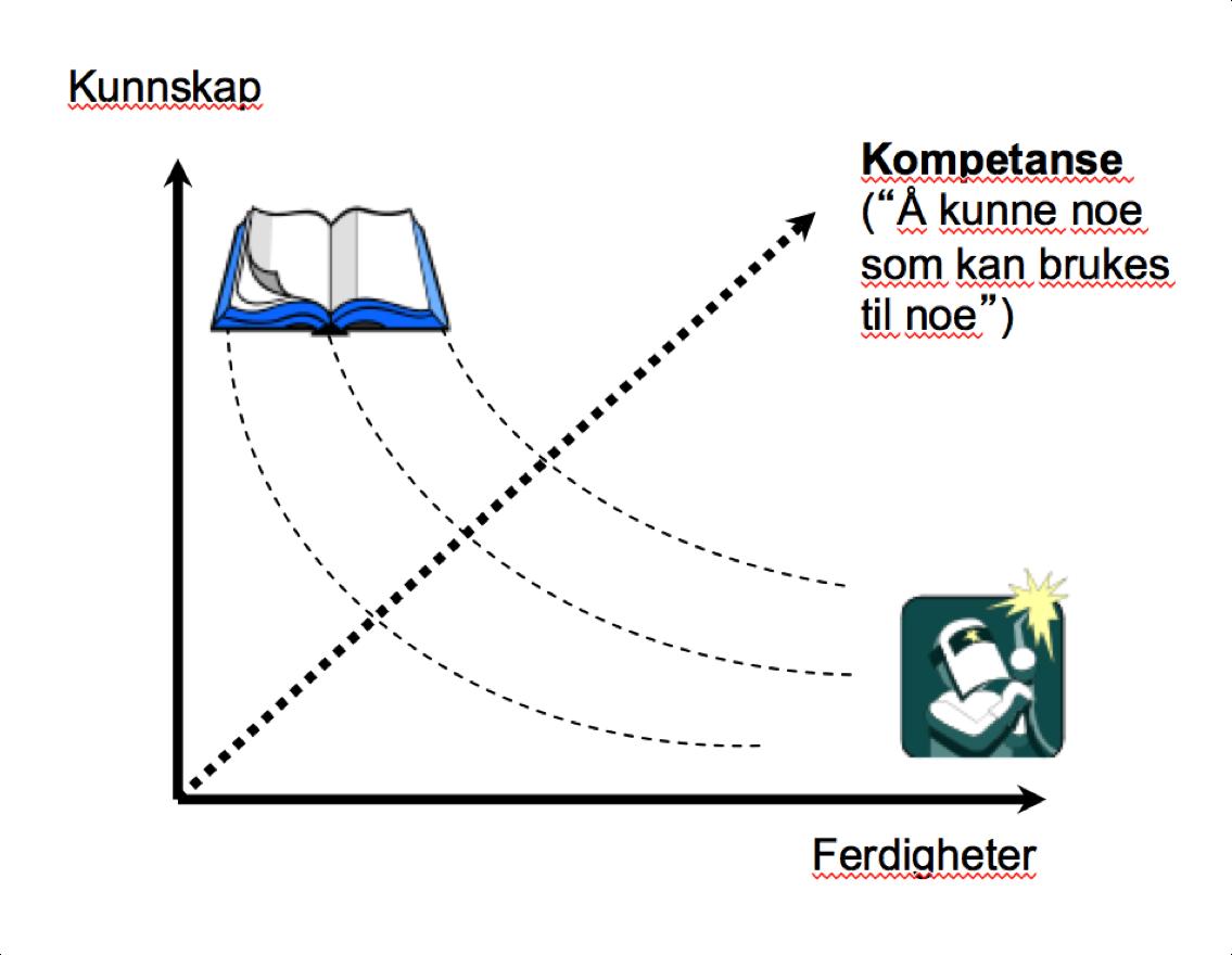Kompetanse er en kombinasjon av praktiske ferdigheter og teoretisk kunnskap.