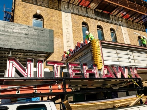 "Nitehawk Cinema Prospect Park aiming to say true to 'classic' Pavilion - September 19, 2018 | AM New YorkPark Slope's Nitehawk Cinema will aim to stay true to the ""classic"" vibe of the 90-year-old Pavilion Theater when it opens by the end of the year, a spokeswoman says.Read More"