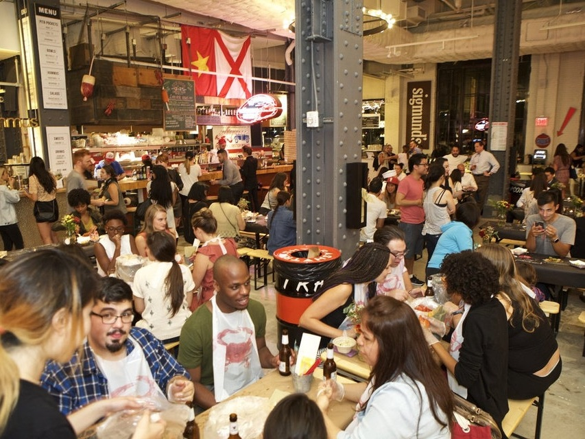 Inside Urbanspace Vanderbilt, A Tasty New Food Hall Near Grand Central - September 18, 2015 | The GothamistThough Grand Central Terminal has plentiful food options of its own, there's not a new dining destination located steps from the iconic transportation hub. ...Read More