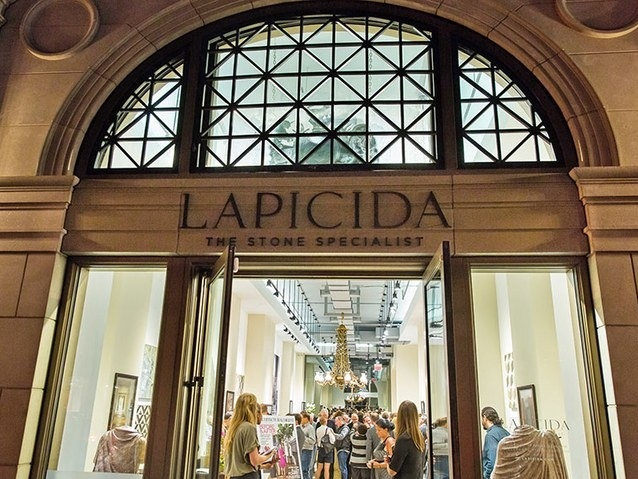 Architectural Digest celebrates the new Lapicida showroom - September 30, 2014 | Architectural DigestArchitectural Digest celebrated the opening of the Lapicida showroom in the D&D Annex Building with a festive gathering earlier this week. Editor in chief Margaret Russell ...Read More