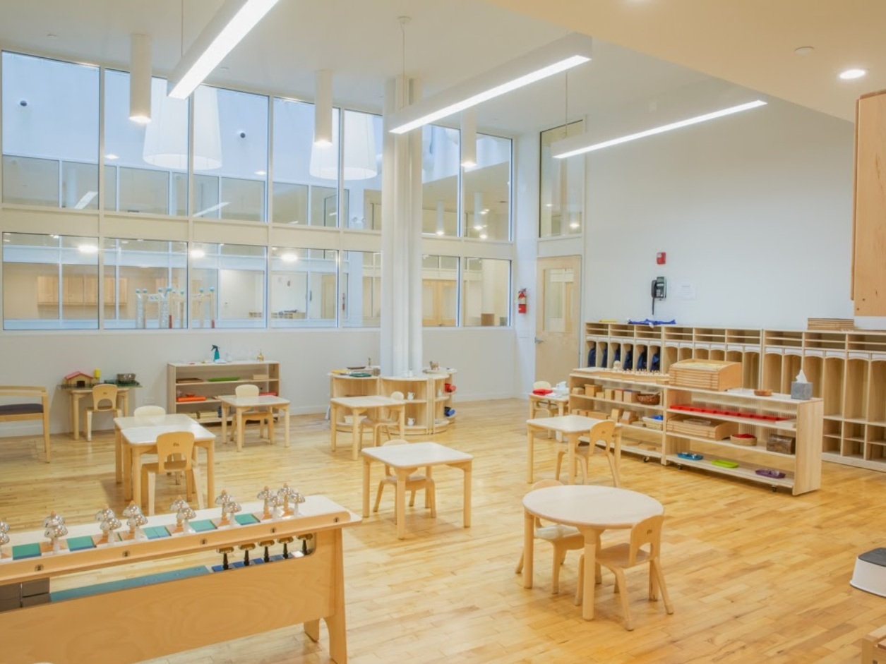 Soho Montessori Preschool to Open in Fall With Playground Terrace - November 4, 2013 | DNA InfoA Montessori preschool opening in SoHo next fall will have a terrace playground that will filter light down into the classrooms below. ...Read More