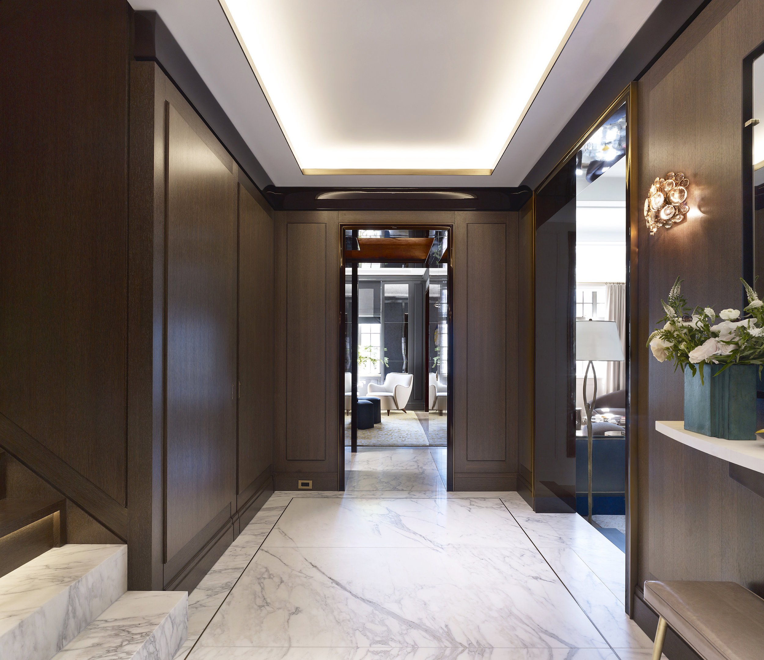 Stonefox 115 East 67th Street Foyer MEP designed by 2L Engineering