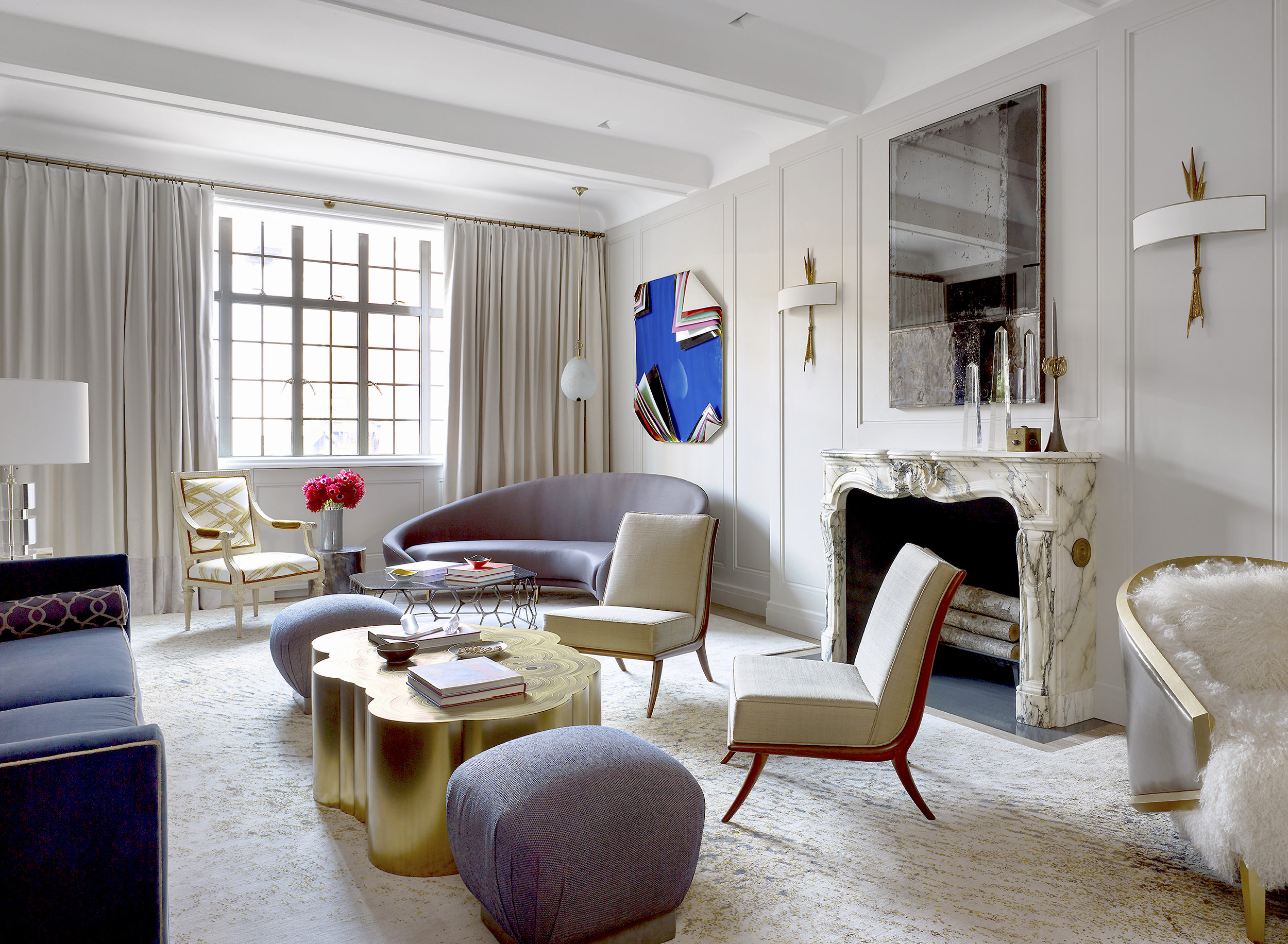Stonefox 115 East 67th Street Living Room MEP designed by 2L Engineering