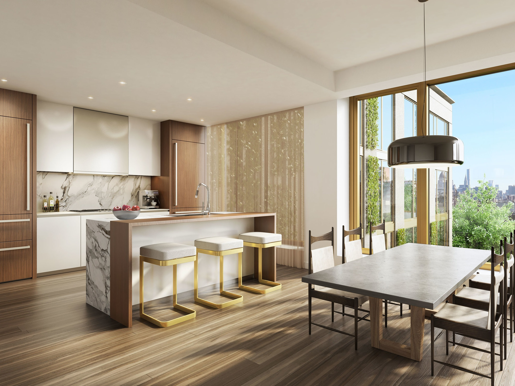 This luxurious Manhattan condo is crafted by rock and roll icon Lenny Kravitz - November 16, 2018 | Elle DecorThere is a palpable sense of luxury as this brand new residential building on the corner of Manhattan's NoLita neighbourhood opens its doors to us. The project, called 75 …Read More