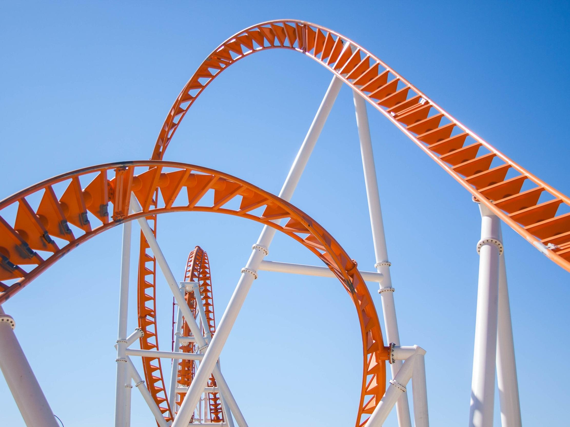 Thunderbolt Rollercoaster -