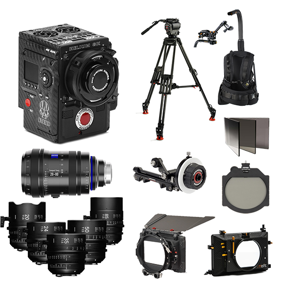 Red Camera Rental Bundle