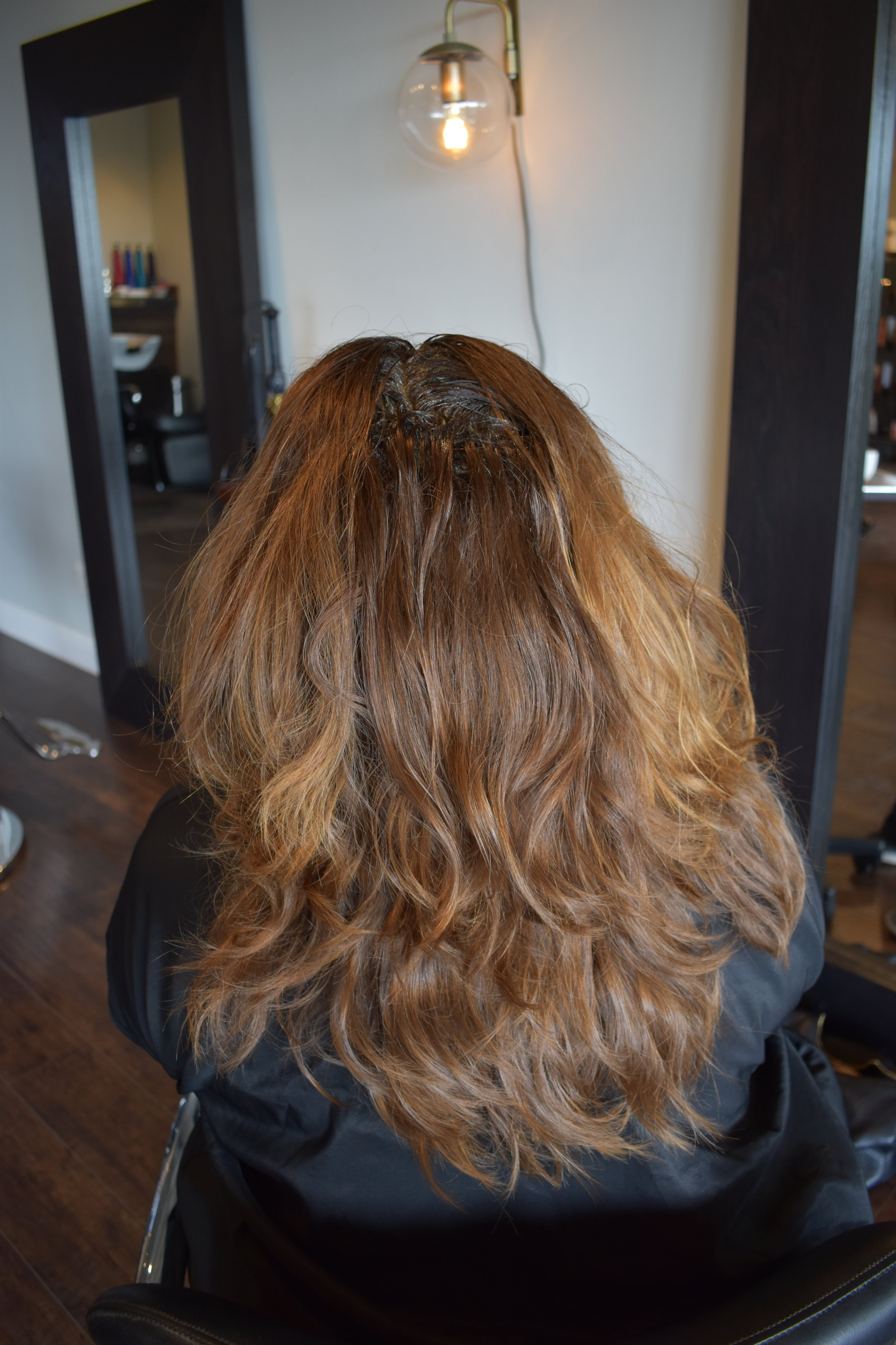 BEFORE - COLOR BY RACHEL