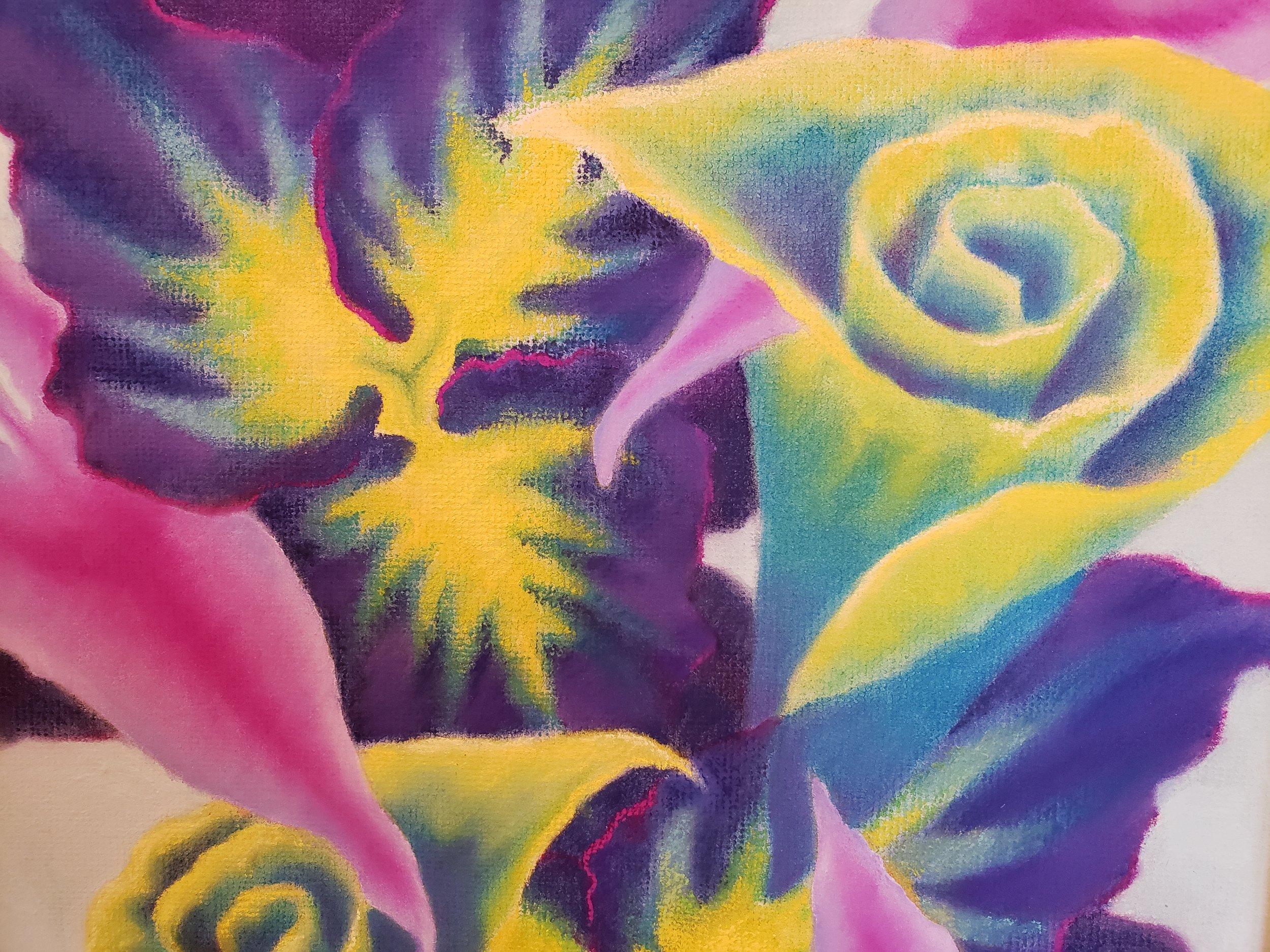 Blue Floral Forms detail.jpg