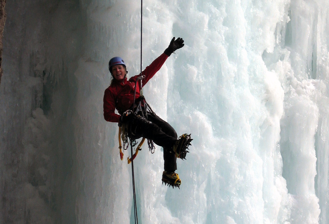 Ice climbing is one of my favorite outdoor pursuits...