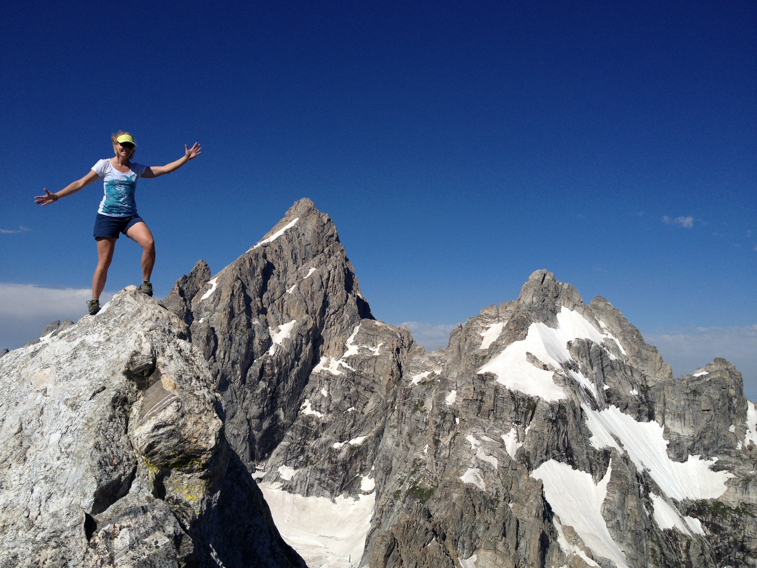 Beckoned by summits (Teton Mountains)