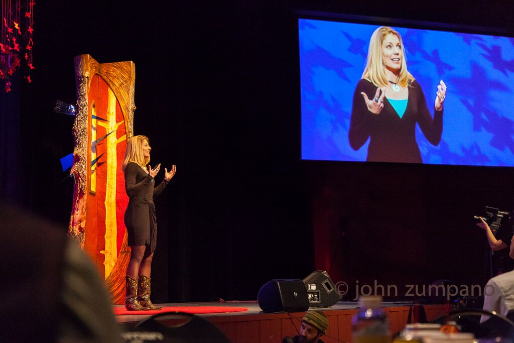 "Speaking at the TEDx event ""Dreamers Who Do"""