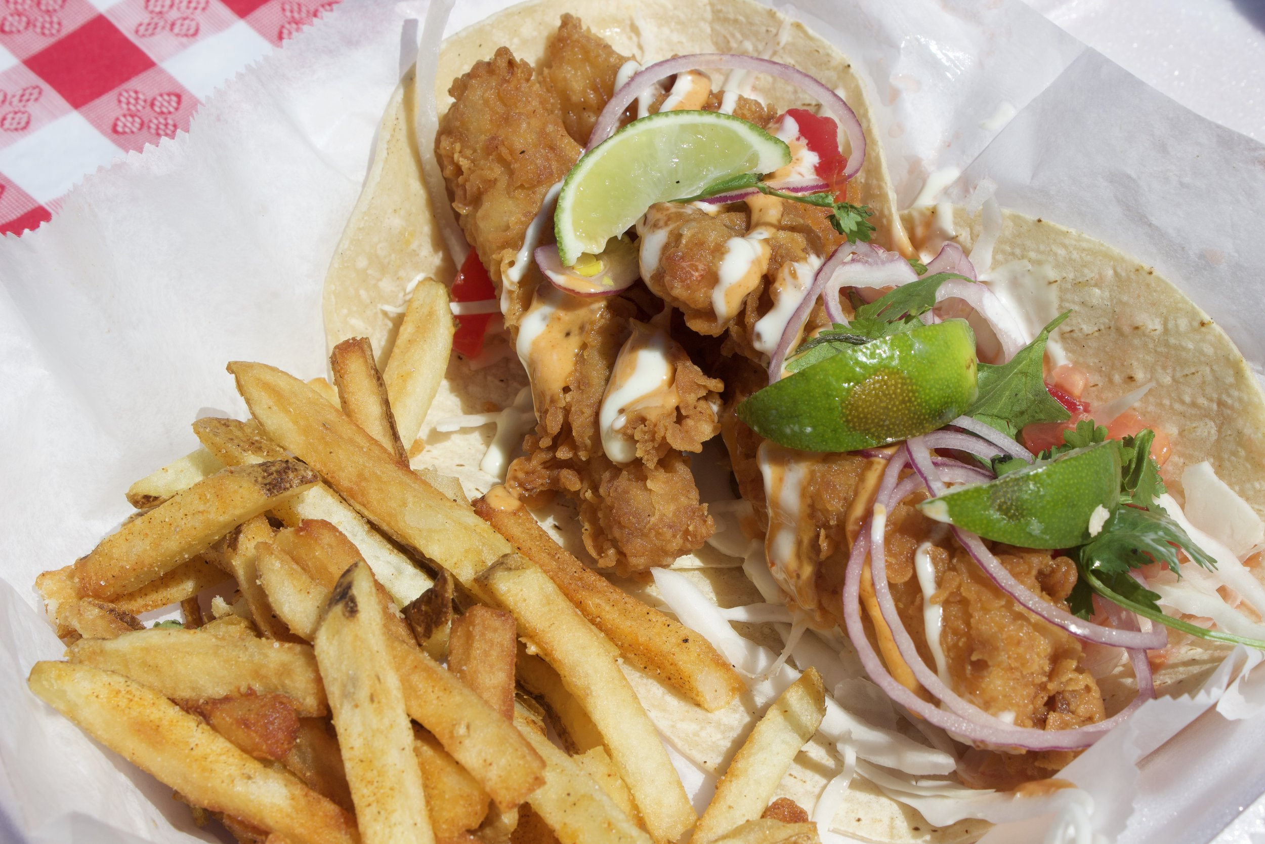 farmer's famous fish tacos