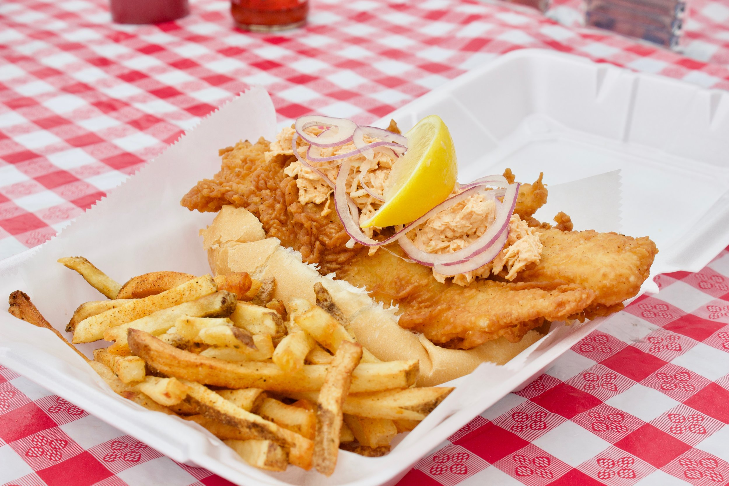 farmers famous fish big fish platter
