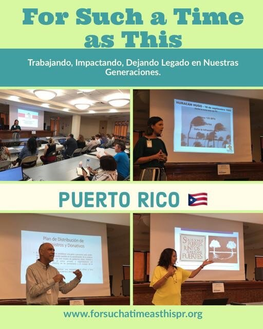 Working, impacting, and leaving legacies for our next generations in Puerto Rico.