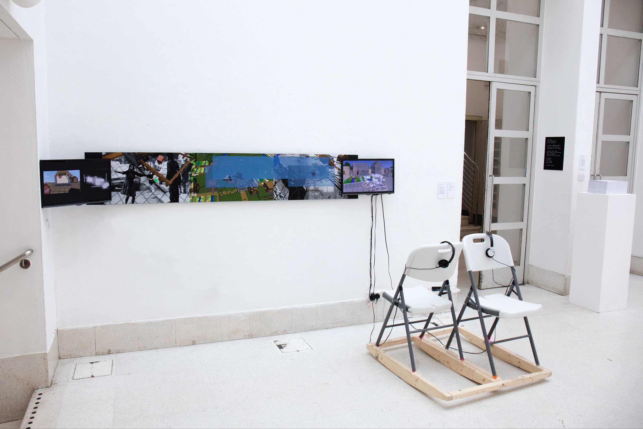 Crafting Memory Lane 2, The Odious Smell of Truth. 2017 Hockney Gallery, London