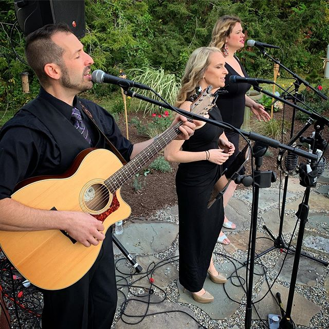 Not only does the trio play out publicly, we may be perfect for your ceremony, cocktail hour or private party! Don't hesitate to reach out today if you, or a loved one may be interested in what we have to offer! 🎼🎤#acoustictrio #newenglandmusic #weddingtrio #weddingentertainment #privatepartyentertainment