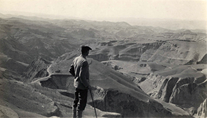 This gentleman may or may not be my grandfather, but this photo offers a sense of the vast, unexplored territory that was Northwest China at the time my grandparents lived there and when my novels take place.