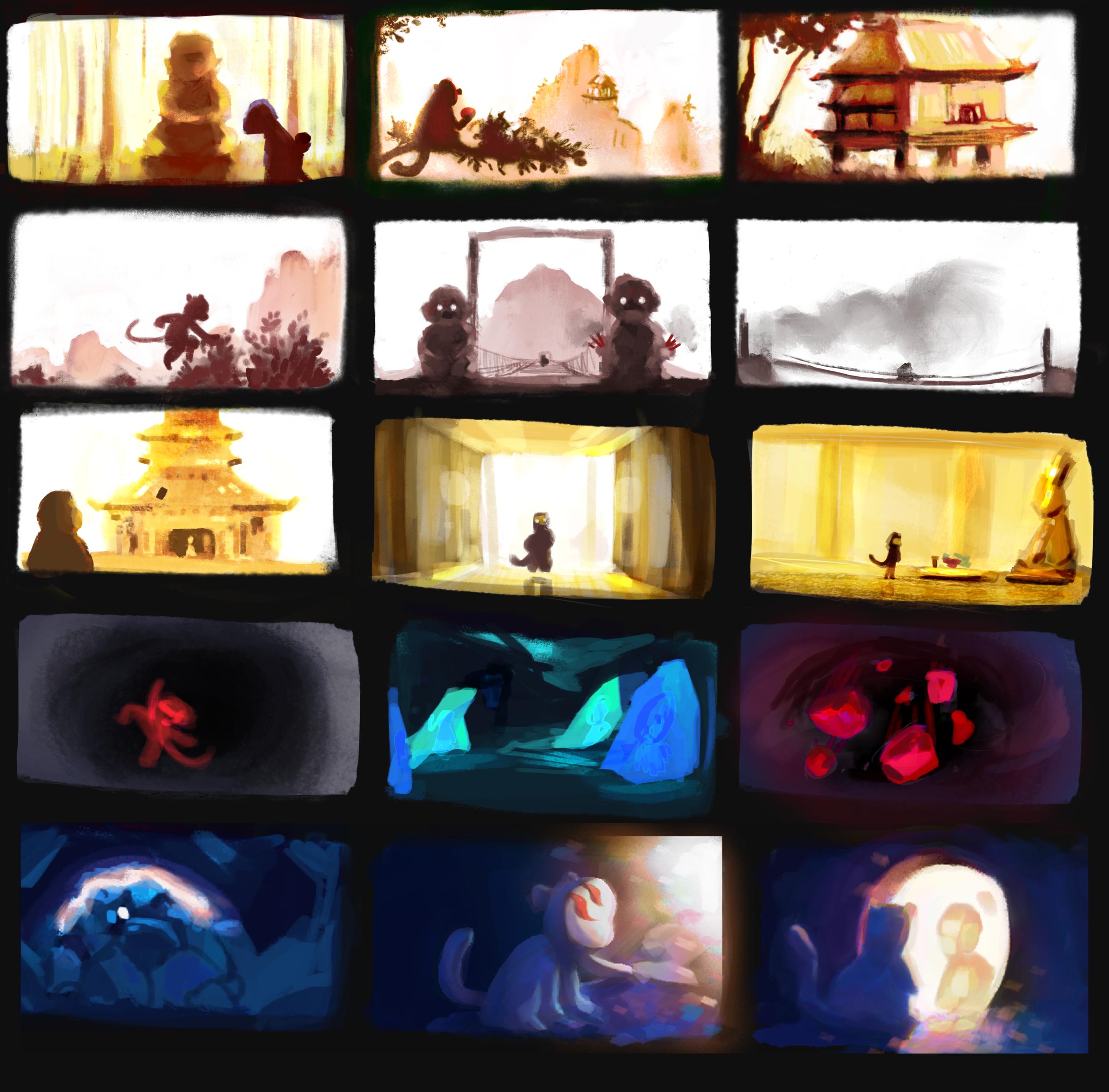 Colorscripts.