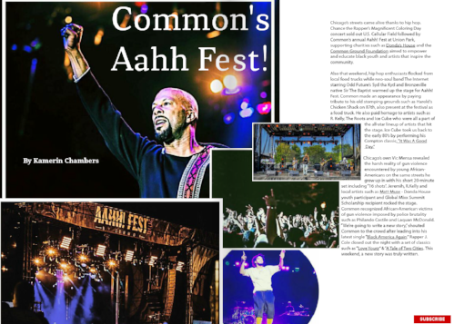 COMMON'S AAHH FEST