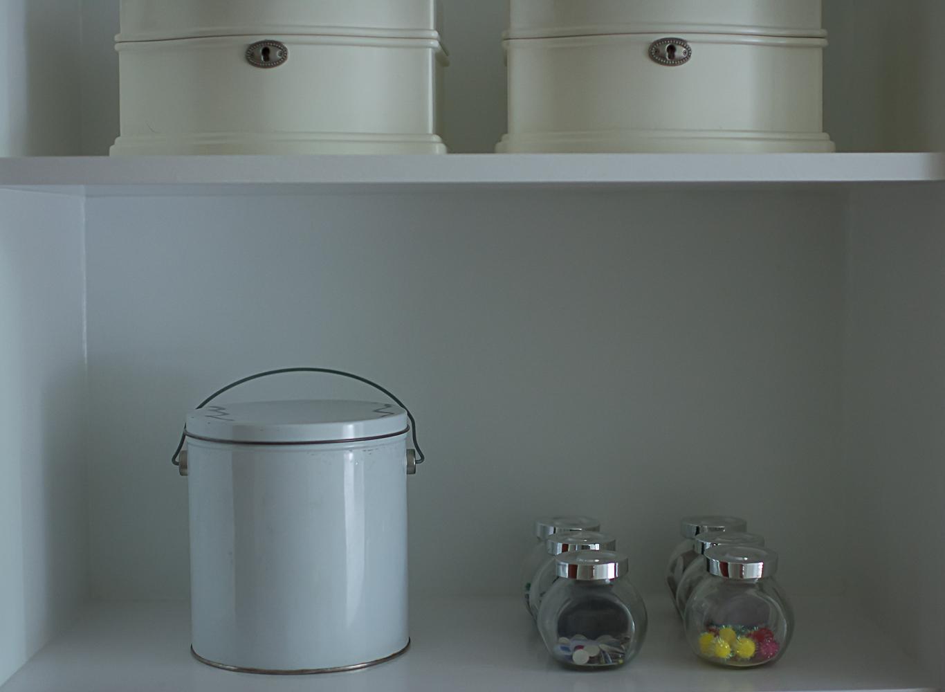 Toy Storage Jars and Buckets