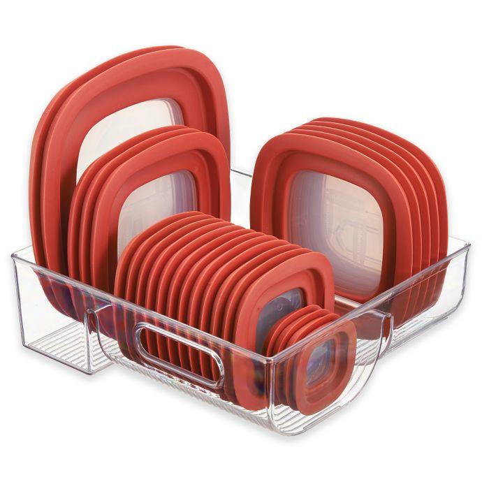 iDesign® Cabinet Binz 3 Compartment Lid Organizer
