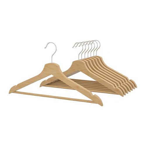 IKEA wooden hangers