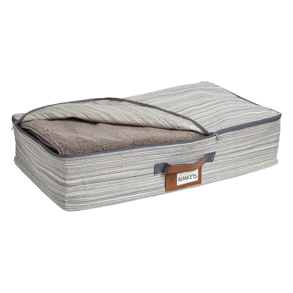 Umbra Grey Under Bed Artisan Crunch Storage Bag
