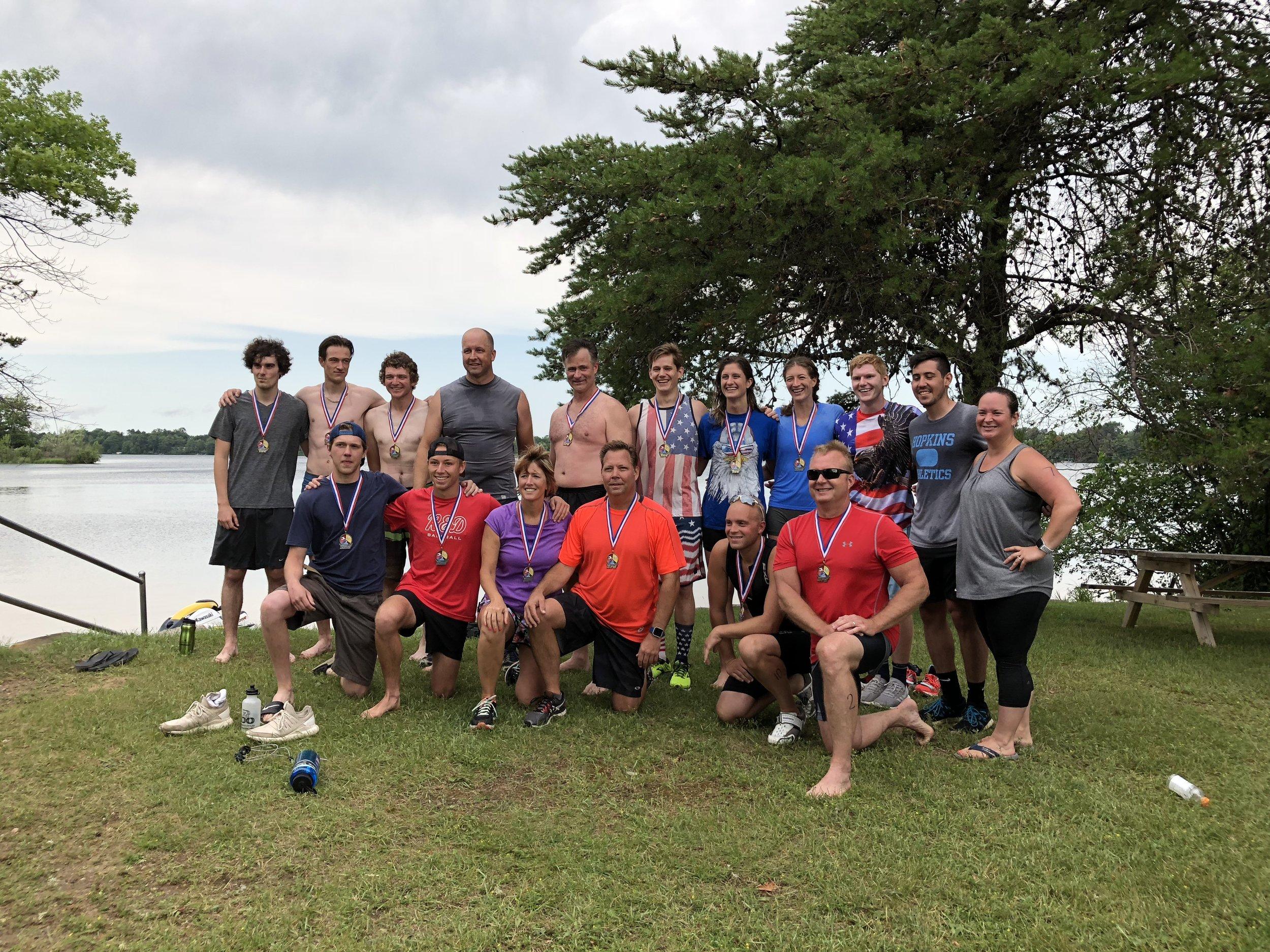 2018 Triathlon Participants