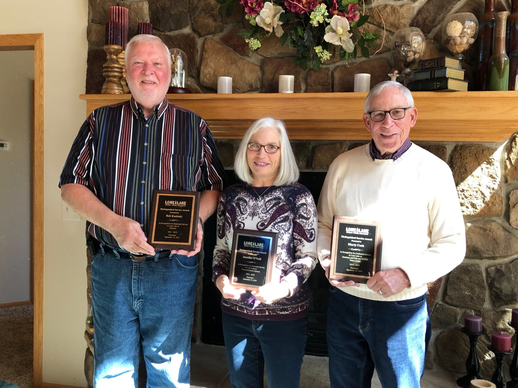 Bob, Jennifer and Marty retire from the board