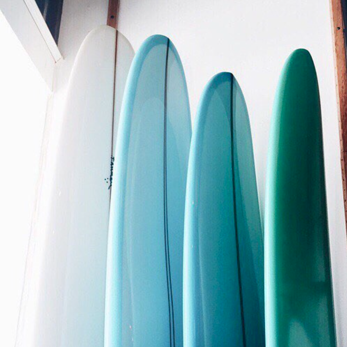 Shades of Blue Surfboards