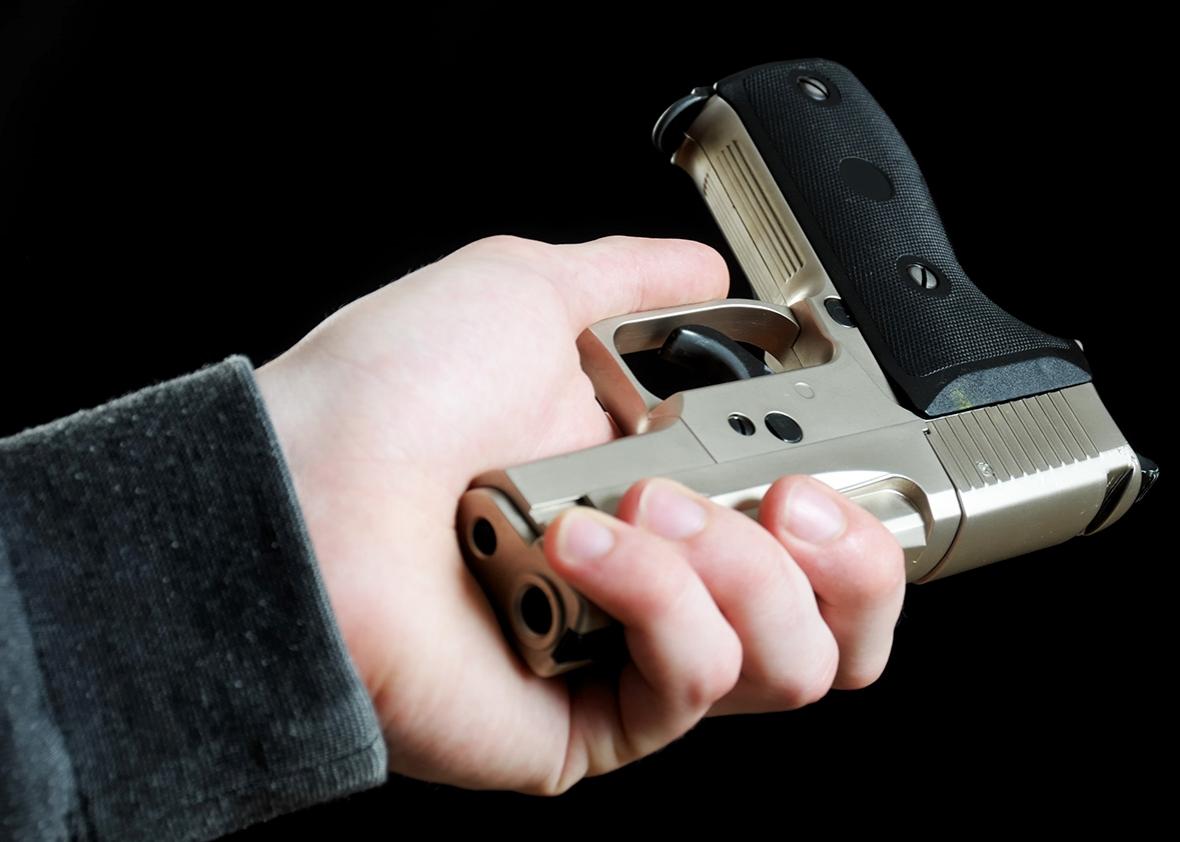 Slate: Friends don't let friends . . . hold onto guns? -
