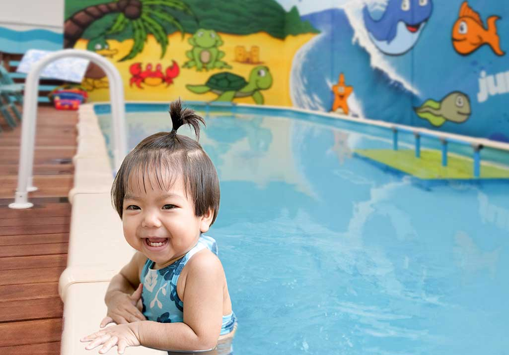 Parenting: Baby swimming lessons -