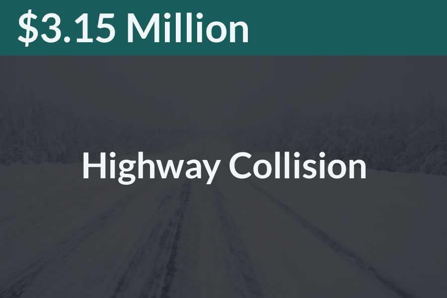 Highway Collision Successful Win Steve Foley Law Esq.
