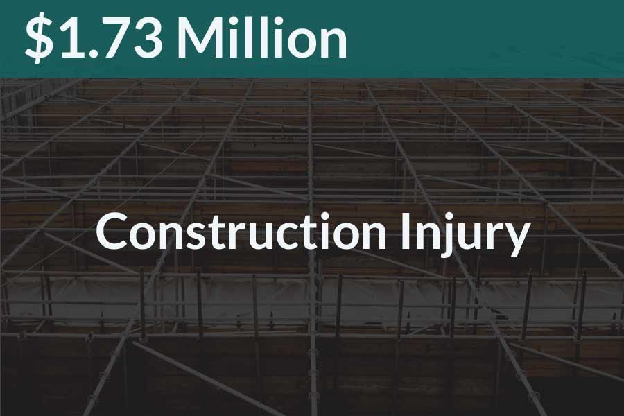 Construction Injury Case Monroe County Steve Foley Esq