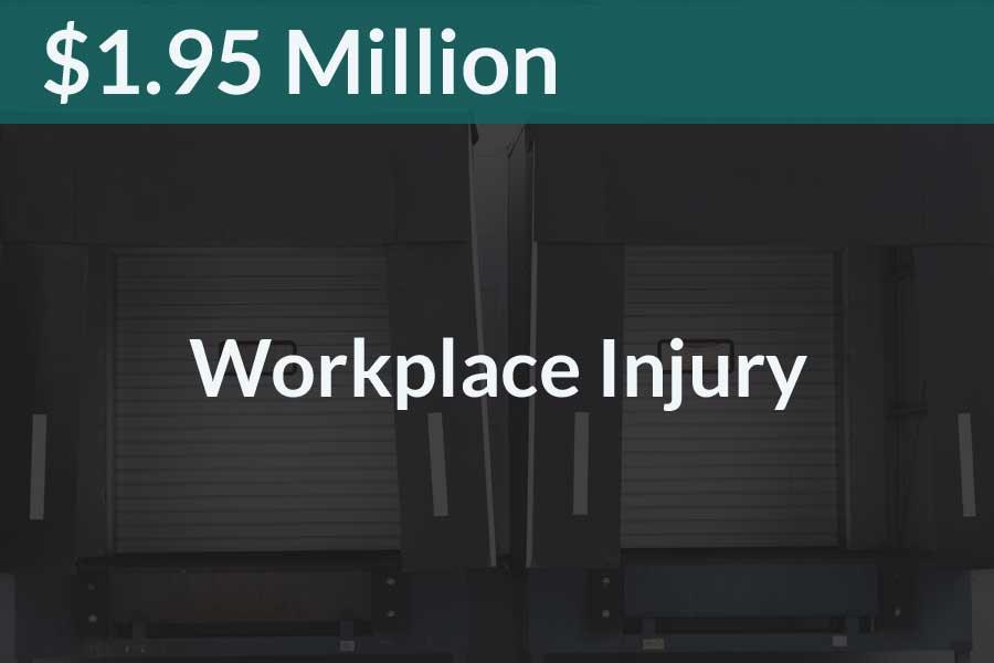 Workplace Fall 1.95 Million Verdict Steve Foley Esq Erie County