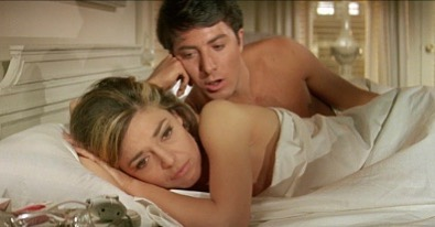 """""""It is difficult to watch The Graduate now, not only because of the real-life actions of its leading man, but because it is nearly impossible to ignore the film's normalization--and, ultimately, romanticization--of abuse. It's also hard to ignore the gaping void that is Elaine, who is not so much a woman but a concept and a conquest, whose interiority must remain unknowable and whose actions must defy logic, lest the entire premise of the film fall to pieces. Like the Manic Pixie Dream Girls of later feminist film theory, she exists solely to save the man she's tied to; her life consists of nothing else..."""" - Madeline Kennedy✨ • Read the full article """"""""Die She Must"""": On Sex, Sadness, and The Graduate, Revisited"""" on SlutMouth.org (link in bio) and share your thoughts below.✨"""