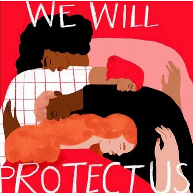 with all thats going on in the world, protect and empower each other.  repost: @themerakiproject
