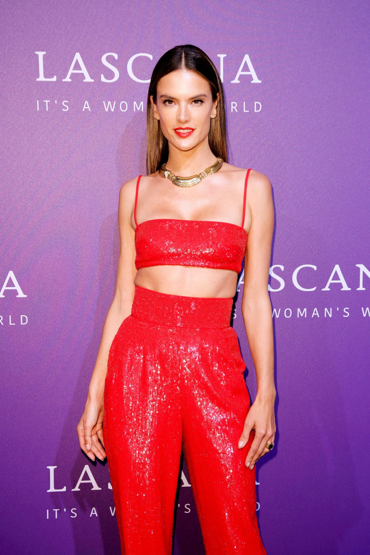 PSFW 2019 VIP SPONSOR LASCANA  Alessandra Ambrosio Sparkles at Lascana Fashion Show!  - Just Jared
