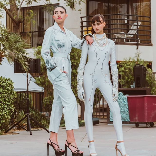 Photo by David Ardill @d_ardill  Models: @jennakaran @bellacolffer Hair/Mua:@cpstyles.co Designer: DiModa Atelier @dimodaatelier_ @jessejcollections . . . . fashionweek#gorgeous#models#lamodel#potd#ps#instadaily#instafamous#runway#model#photooftheday#fashionbrand#instalove#designer#photohrapher#fadhionblogger