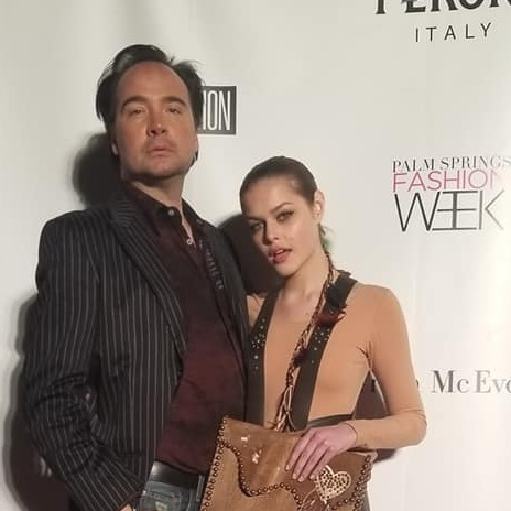 Giles+Taylor+at+Palm+Springs+Fashion+Week%2C+on+the+Red+Carpet